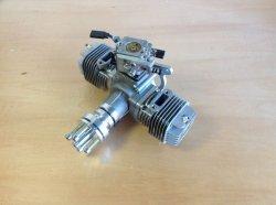 画像1: RCGF社 新型  40ccTWIN  ガソリンエンジン Walbro