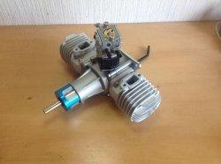 画像1: グレートパワーモデルエンジン社  GP-76 Twin