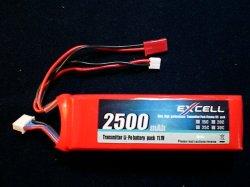 画像1: 送信機用 リチューム電池 2500mah